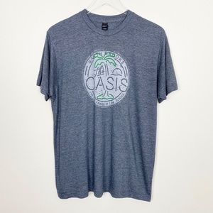 GARTH BROOKS The Oasis Graphic Tee L Low Places
